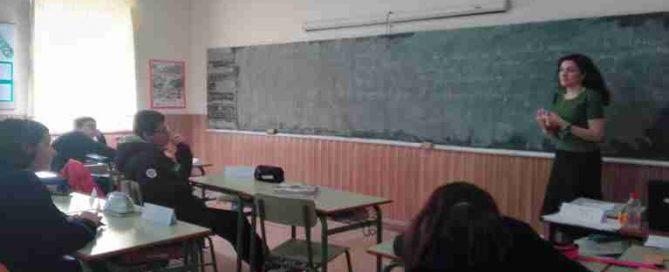 Enróllate con la igualdad 3º ESO. Colegio Rafaela María, Valladolid.