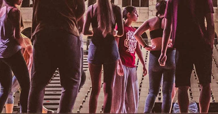 Grupo de baile Fresas con Nata