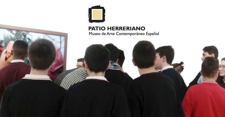 Taller para 4º de la ESO en el museo Patio Herreriano