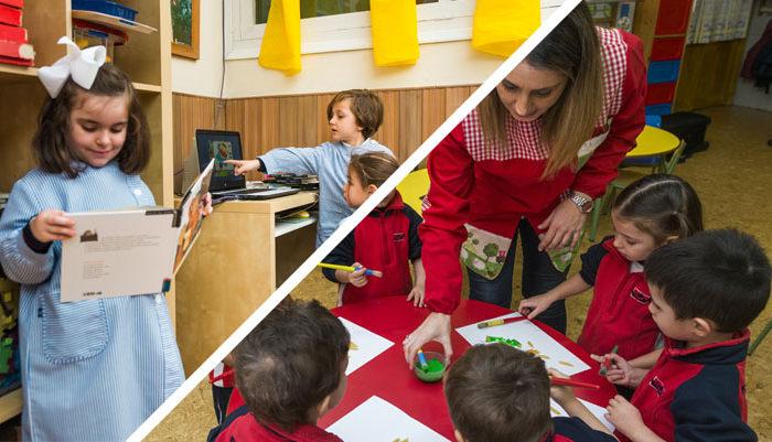 Taller interciclo con niños de Infantil y Primaria
