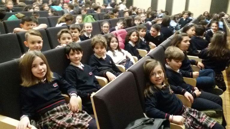 Educación primaria – Obra de teatro en inglés en la Sala Borja ...