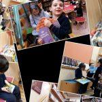 Visita de tercero de infantil a la biblioteca Francisco Javier Martín Abril