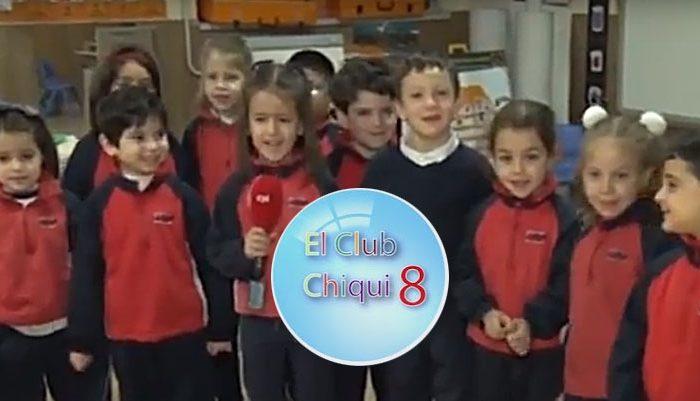 Club Chiqui8 de Tv Valladolid en el Rafaela María