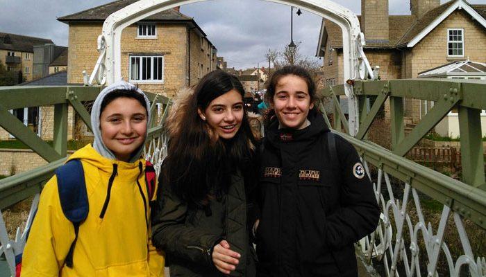 Viaje a Inglaterra del alumnado de ESO del Colegio Rafaela María de Valladolid.