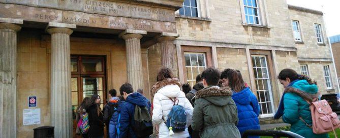 Viaje a Peterborough de los alumnos de ESO del Colegio Rafaela María de Valladolid