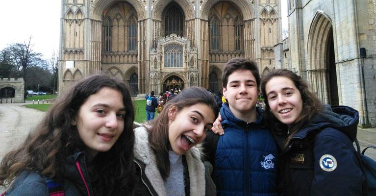 Viaje a Inglaterra de los alumnos de ESO del Colegio Concertado Rafaela María de Valladolid