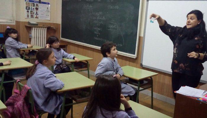 Taller primaria colegio centro valladolid