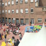 Bocadillo familiar en el colegio Rafaela María de Valladolid
