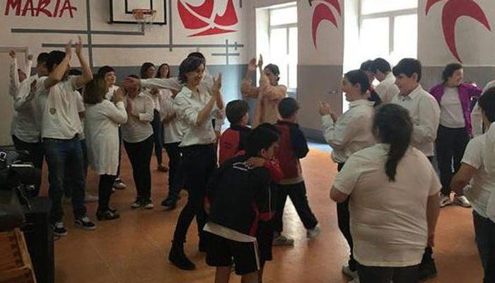 Danza e inclusión en el colegio Rafaela María de Valladolid