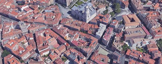 Fotografía aérea de Valladolid