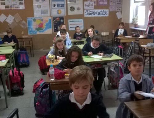 """""""Derecho a la educación"""" con Entreculturas en 5º de Primaria"""