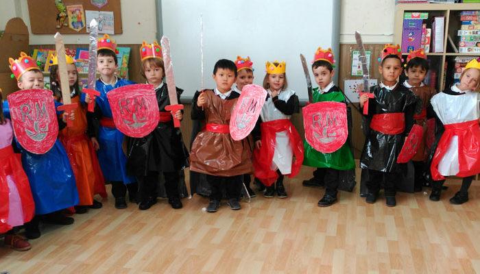 Nuestros reyes y reinas de 3º de Infantil