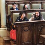 Participación del Colegio Rafaela María de Valladolid en las actividades de celebración del Día universal de la Infancia en el Ayuntamiento de la ciudad.