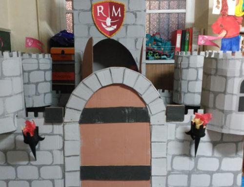 El castillo de 3º de Infantil