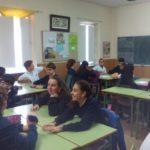 Taller sobre los derechos del nño en 3º de ESO del Colegio concertado Rafaela María del centro de Valladolid