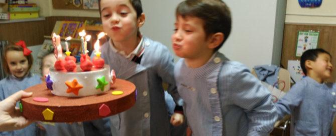 Cumpleaños en 3º de infantil