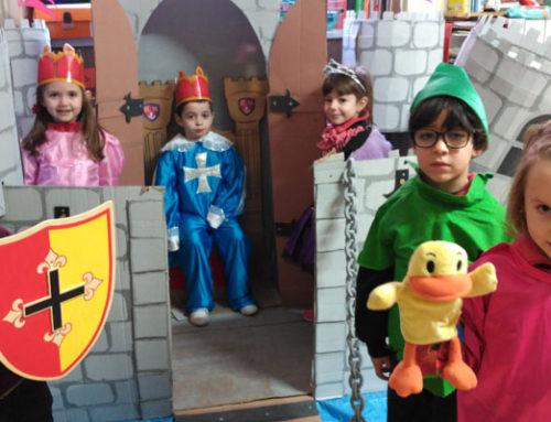 Representación teatral en 3º de Infantil