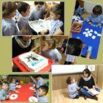 Cumpleaños nutritivo en infantil