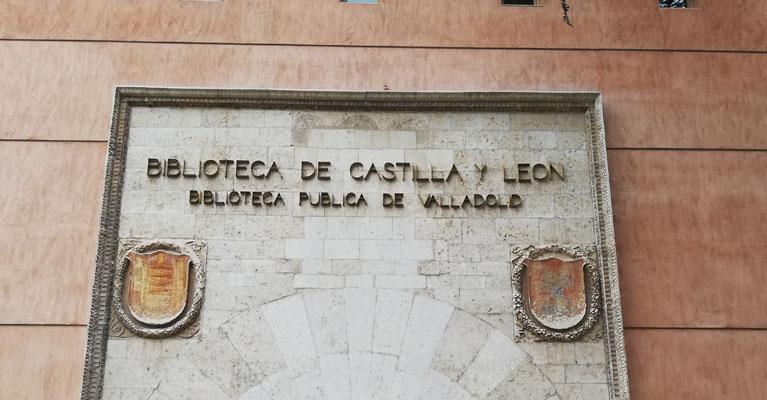 Visita a la biblioteca de Castilla y León de alumnos de ESO del colegio