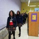Visita a la biblioteca de Castilla y León de 2º ESO del colegio Rafaela María del centro de Valladolid