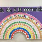 Celebramos el Día de la Paz en el Colegio Rafaela María de Valladolid.