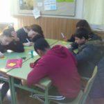 Jóvenes Creactivos en el Colegio Rafaela María del centro de la ciudad