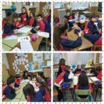 Los alumnos y alumnas de 5º de primaria del Colegio Rafaela María hacen maquetas de los aparatos que intervienen en la función de nutrición.