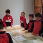 4º de primaria del Colegio Rafaela María visita el Archivo de Chancillería.