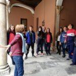 Visita al museo arqueológico de Valladolid de alumnado de ESO del colegio concertado Rafaela María del centro de Valladolid