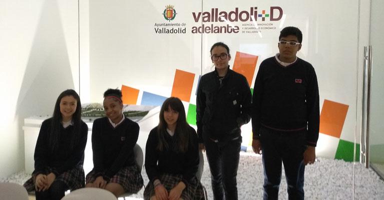 Premio de la Ruta del emprendimiento para alumnos del colegio concertado Rafaela María del centro de Valladolid