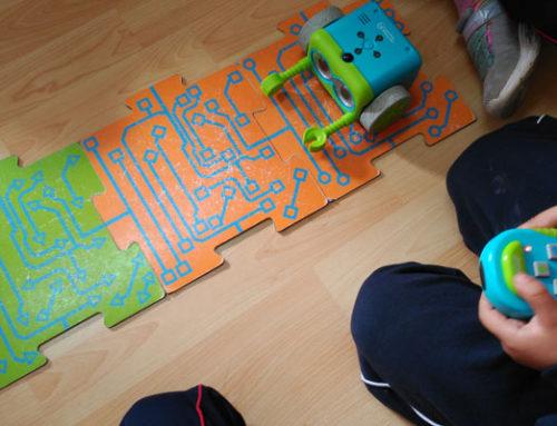 Taller de robótica en 2º y 3º de infantil