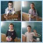 Los alumnos de 3º del Colegio Rafaela María han construído máquinas con materiales reutilizados.