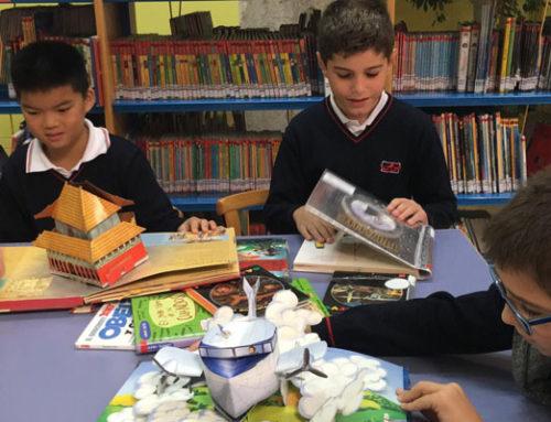 Visita de 4º de primaria a la Biblioteca de Castilla y León