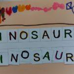 Palabra dinosaurio