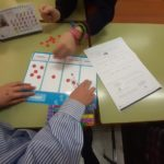 Matemáticas manipulativas en el Colegio Rafaela María de Valladolid.