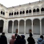 Los alumnnos y alumnas de 4º de primaria del Colegio Rafaela María de Valladolid visitan el Museo Nacional de Escultura.