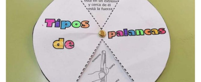 Los alumnos y alumnas de 6º de primaria del Colegio Rafaela María están estudiando los distintos tipos de palancas.