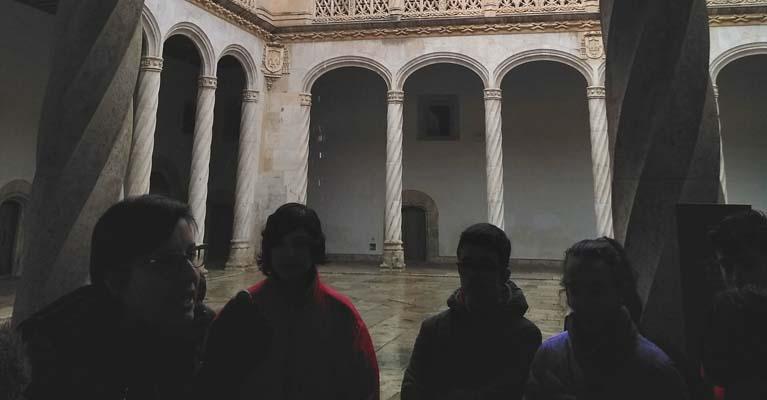 Visita al Valladolid monumental del alumnado del colegio Rafaela María del centro de Valladolid