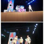 Alumnos y alumnas de 5º y 6º del colegio Rafaela María de Valladolid van a ver una obra de teatro en inglés.