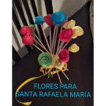 Flores para nuestra Rafaela María