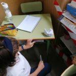 Los alumnos y alumnas de 5º de primaria del Colegio Rafaela de Valladolid trabajan el análisis de sustantivos.