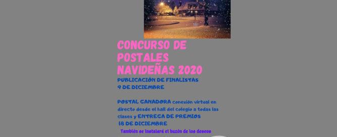 Concurso de postales navideñas organizado por el AMPA en el Colegio Rafaela María de Valladolid.