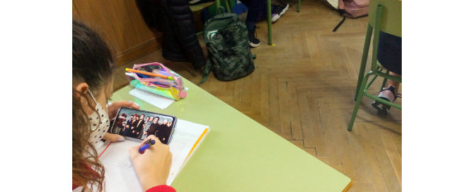 Los alumnos y alumnas de 4º ESO del Colegio Rafaela María han realizado una investigación trabajando como historiadores.