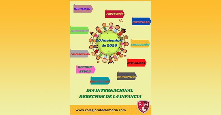 El Colegio Rafaela María de Valladolid celebra el Día Universal de la Infancia.