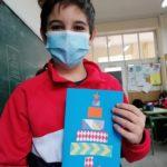 Los alumnos y alumnas de 6º de primaria del Colegio Rafaela María de Valladolid han elaborado unas estupendas postales navideñas.