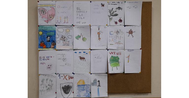 Los alumnos y alumnas de 4º de primaria del Colegio Rafaela María de Valladolid han trabajado las fábulas.