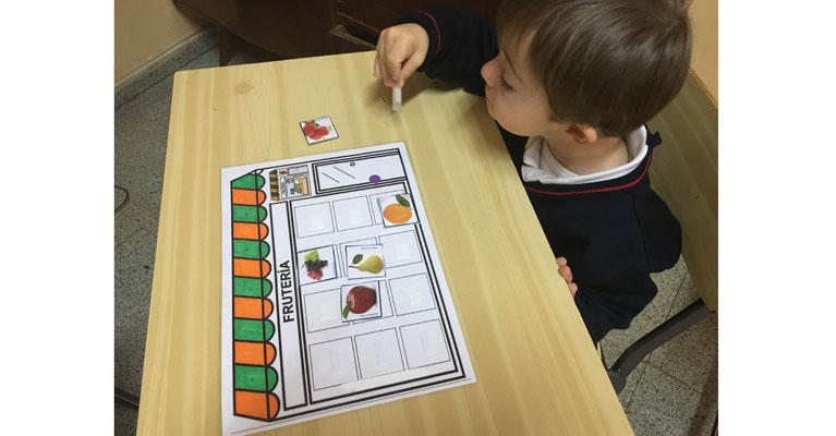 Trabajamos el vocabulario de las frutas