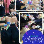 carnaval en primaria en el colegio concertado Rafaela María del centro de Valladolid