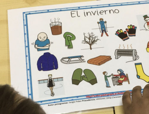 Vocabulario del invierno