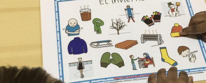 Vocabulario de invierno_diversidad_colegio_centro_valladolid